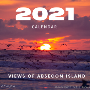 2021 Calendar - Views of Absecon Island